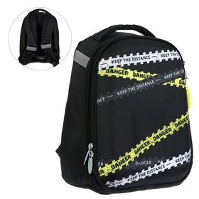 Рюкзак каркасный, Calligrata, 37 х 28 х 19 см, «Ленты»