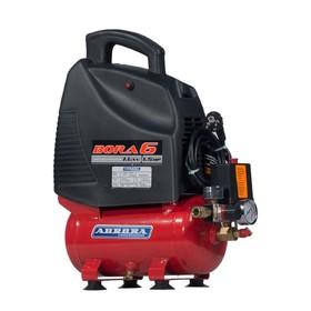 Компрессор Aurora BORA 6 14775, 220 В, 161 л/мин, 1.1 кВт, 6 л, поршневой, безмасляный