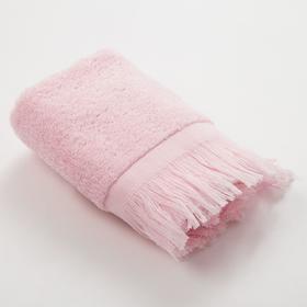 Полотенце махровое Love Life Fringe 30*60 светло-розовый,100% хлопок, 360 г/м2