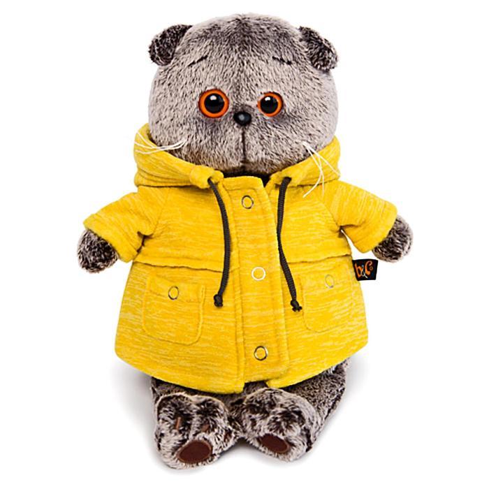 Мягкая игрушка «Басик в желтой куртке «B&Co», 30 см - фото 4470791