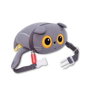 Мягкая игрушка-сумка поясная Baby Basik, 14х13х6 см