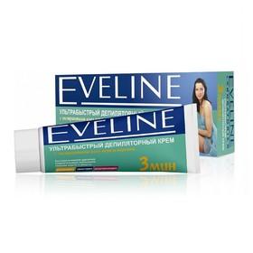 Депилятор-крем для тела Eveline «Ультрабыстрый 3 мин», с алоэ и персиком, 100 мл