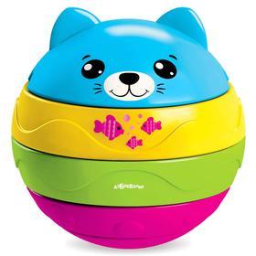 Музыкальный мячик-пирамидка «Котенок»