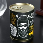 """A set of whisky stones in a tin can """"Cool guy"""", 9 PCs"""