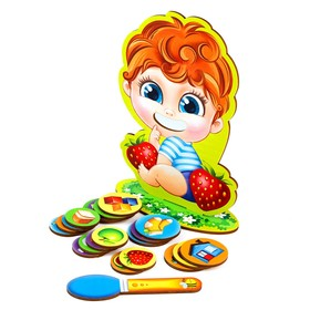 """Board game """"Feed me"""", the child"""