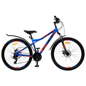 """Велосипед 27,5"""" Stels Navigator-710 MD, V020, цвет синий/чёрный/красный, размер 18"""""""