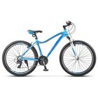"Велосипед 26"" Stels Miss-6000 V, V020, цвет голубой, размер 17"""