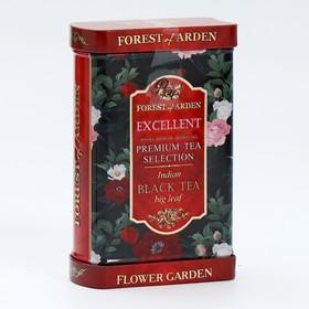 """Чай черный Forest of Arden """"EXCELLENT"""" крупнолистовой индийский  ж/б (микс 2 цвета) 75 г"""