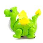 Динозавр «Дракончик» работает от батареек, откладывает яйца, световые и звуковые эффекты, цвета МИКС - фото 105499892