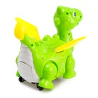 Динозавр «Дракончик» работает от батареек, откладывает яйца, световые и звуковые эффекты, цвета МИКС - фото 105499893