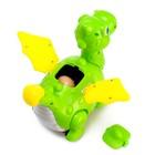Динозавр «Дракончик» работает от батареек, откладывает яйца, световые и звуковые эффекты, цвета МИКС - фото 105499894