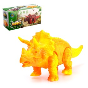 "Dinosaur ""Triceratops"", battery powered, MIX"