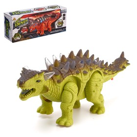 "Dinosaur ""Stegosaurus"" battery powered light and sound effects, the MIX"