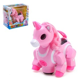 A toy robot Pony, battery powered, dancing, light, sound, MIX