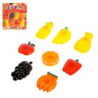 """Playing a set of """"Fruit-vegetables"""" on the magnet"""