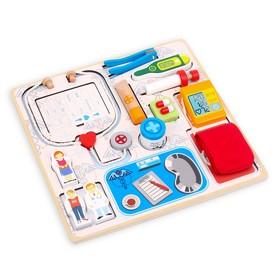 Игра детская настольная «Набор врача» 4,5×30,5×30,5 см