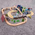 Железная дорога 149 деталей, 13×60×42,5 см - фото 105642873