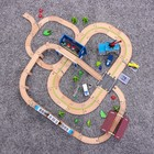 Железная дорога 149 деталей, 13×60×42,5 см - фото 105642874
