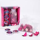 Набор подарочный «Перья»: аромасаше, свечи - фото 486980