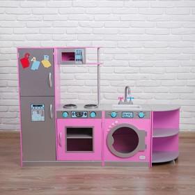 Игровой набор «Угловая кухня трансформер» 30×140×101 см