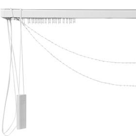 Карниз для вертикальных жалюзи, управление центральное, 240 см