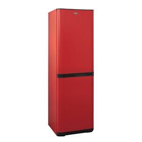 """Холодильник """"Бирюса"""" H340NF, двухкамерный, класс А, 340 л, красный"""