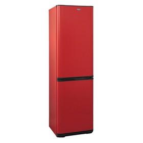 """Холодильник """"Бирюса"""" H649, двухкамерный, класс А, 380 л, красный"""