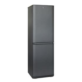 """Холодильник """"Бирюса"""" W631, двухкамерный, класс А, 345 л, цвет матовый графит"""