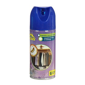 Аэрозоль от моли и кожееда ARGUS на 6 месяцев защиты с запахом ЛАВАНДЫ, 100 мл