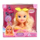 Кукла-манекен для создания причёсок «Алексия» с аксессуарами - фото 1000627