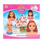 Кукла-манекен для создания причёсок «Алексия» с аксессуарами - фото 1000628