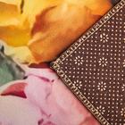Набор ковриков для ванны и туалета «Акварель пионы», 2 шт: 40×50, 50×80 см - фото 4653188