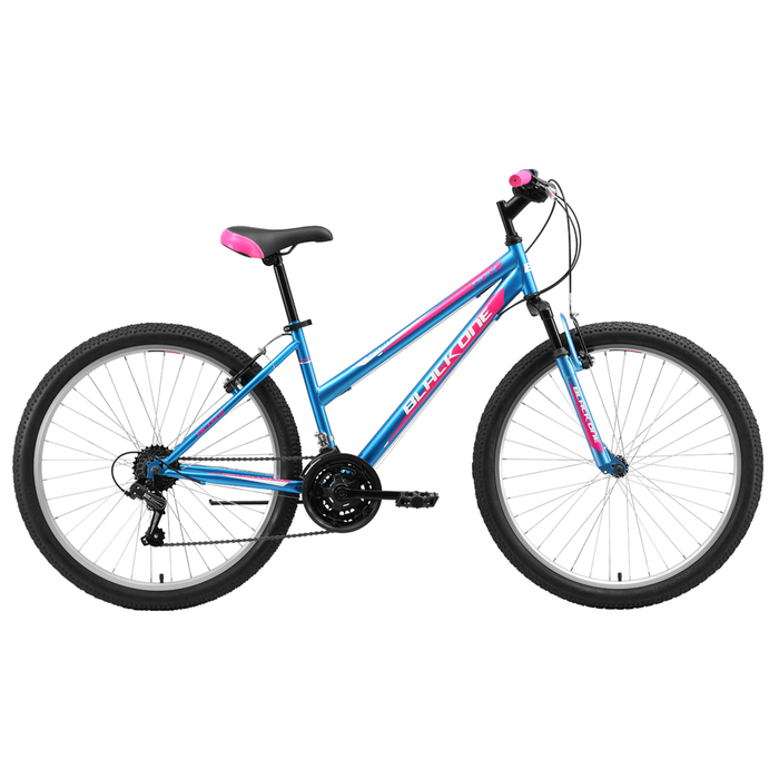 """Велосипед 26"""" Black One Alta, 2020, цвет голубой/розовый/белый, размер 18"""""""