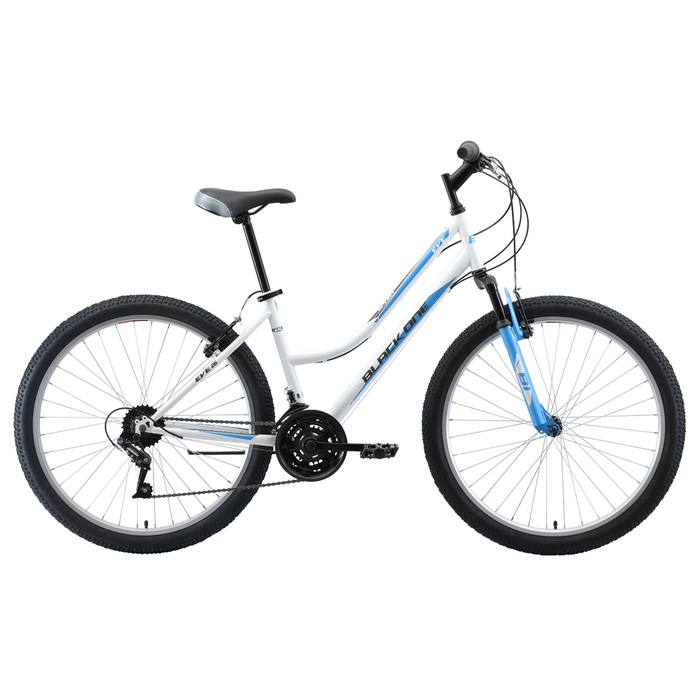 """Велосипед 26"""" Black One Eve, 2020, цвет серебристый/голубой/серый, размер 18"""""""