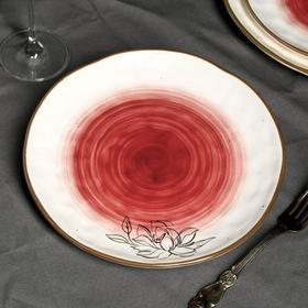 Тарелка «Цветы», Ø 21.8 см