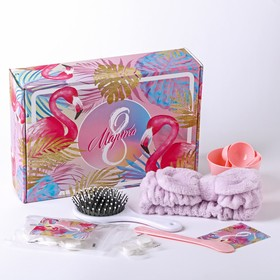 Подарочный набор «Фламинго», 27 х 7 х 18,5 см