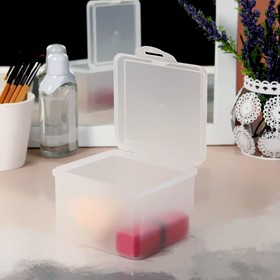 Container d/storage is broken o 9,9*8,5*7,2 cm Mat white