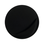 Mouse pad LuazON, pillow under the arm, round, black
