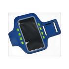 "Светодиодный чехол для телефона на руку, SY-AA14, до 5.5"", от 1 х CR2032, синий"