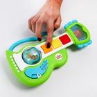 Развивающая игрушка с погремушкой Гитара «Рокзвезда» - фото 105528708