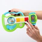 Развивающая игрушка с погремушкой Гитара «Рокзвезда» - фото 105528709