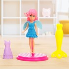 """The fairy doll """"Emma"""" collapsible, with accessories, MIX"""