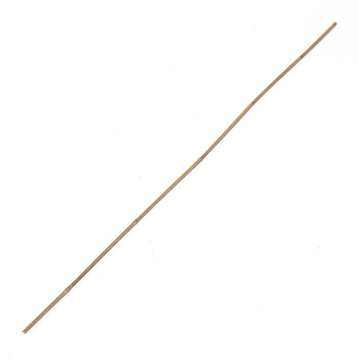 Колышек для подвязки растений, h = 150 см, d = 1,2-1,4 см, бамбук
