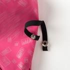 Рукавицы детские, непромокаемые утепленные, цвет розовый принт, размер 14 - фото 105569197