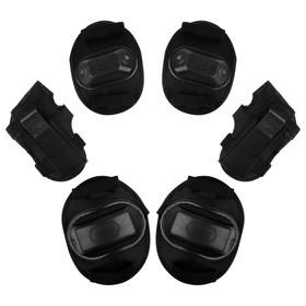 Защита роликовая, размер S, цвет чёрный