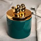 Банка для сыпучих продуктов «Золотое крыло», 800 мл - фото 487152
