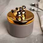Банка для сыпучих продуктов «Золотое крыло», 500 мл - фото 487156