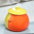 Горшок духовой желто-оранжевый, 0,6 л, 1 сорт