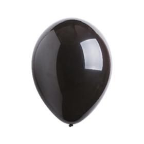 """Шар латексный 5"""", фэшн, водяные бомбочки, набор 100 шт., цвет чёрный"""