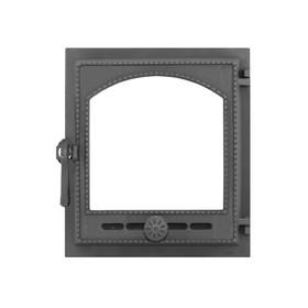 Дверка топочная герметичная «Онего» ДТГ-8АС, 34х37х13 см, без стекла, термошнур